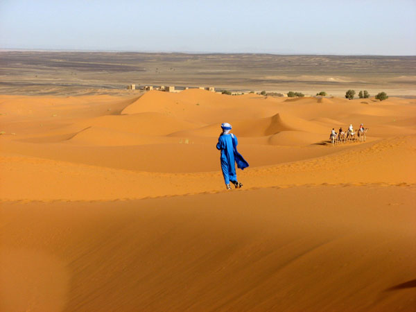 The Sahara Desert, North Africa
